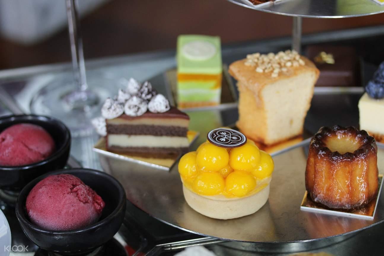 dessert buffet at [High Tea At The Bar] The House On Sathorn at W Bangkok